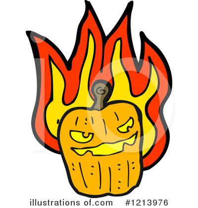 Jack-O-Lantern Clipart #1213976 by lineartestpilot