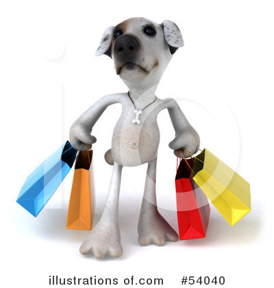 Shopping Bag Clipart #54040 by Julos