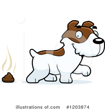 Jack Russell Terrier Clipart #1203874 by Cory Thoman