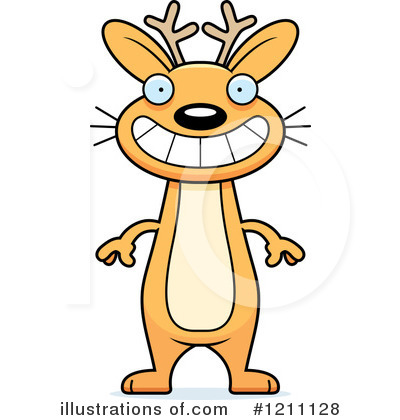 Jackalope Clipart #1211128 by Cory Thoman