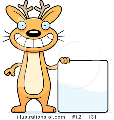Jackalope Clipart #1211131 by Cory Thoman