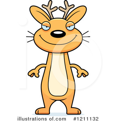 Jackalope Clipart #1211132 by Cory Thoman