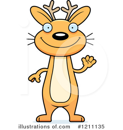 Jackalope Clipart #1211135 by Cory Thoman