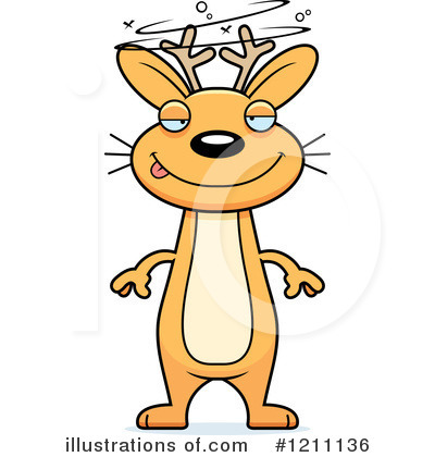Jackalope Clipart #1211136 by Cory Thoman