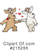 Jackalope Clipart #215266 by Cory Thoman