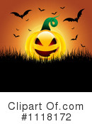 Royalty-Free (RF) Jackolantern Clipart Illustration #1118172