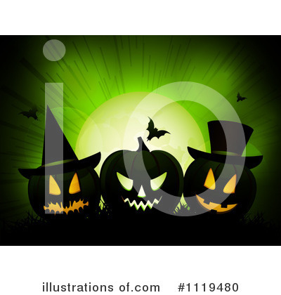 Halloween Clipart #1119480 by elaineitalia