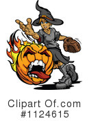Royalty-Free (RF) Jackolantern Clipart Illustration #1124615