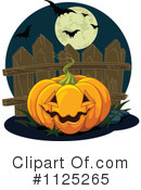 Royalty-Free (RF) Jackolantern Clipart Illustration #1125265