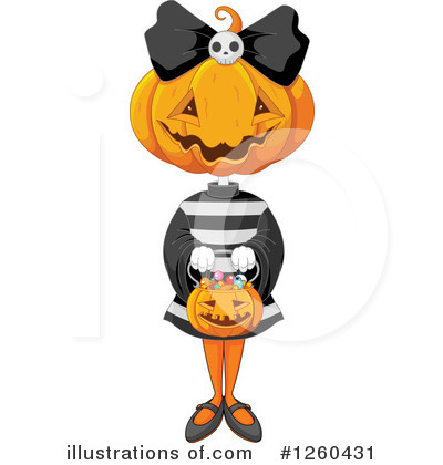 Halloween Clipart #1260431 by Pushkin