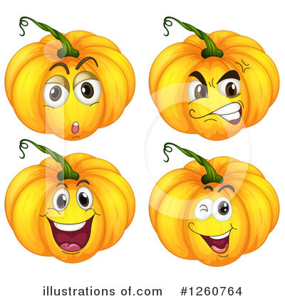 Royalty-Free (RF) Jackolantern Clipart Illustration by Graphics RF - Stock Sample #1260764