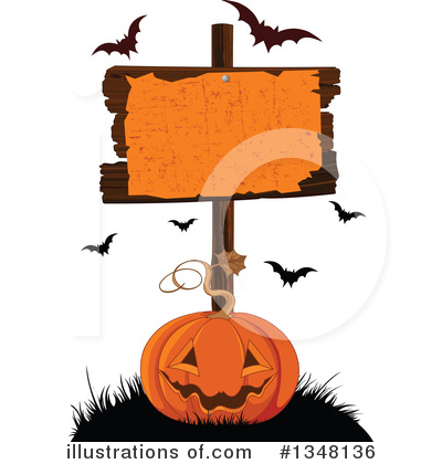 Halloween Clipart #1348136 by Pushkin