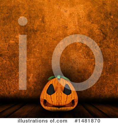 Royalty-Free (RF) Jackolantern Clipart Illustration by KJ Pargeter - Stock Sample #1481870