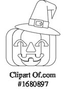 Jackolantern Clipart #1680897 by AtStockIllustration