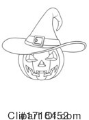 Jackolantern Clipart #1718452 by AtStockIllustration