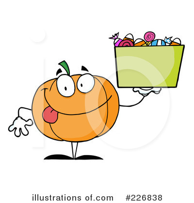 Royalty-Free (RF) Jackolantern Clipart Illustration by Hit Toon - Stock Sample #226838