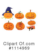 Jackolanterns Clipart #1114969 by Graphics RF