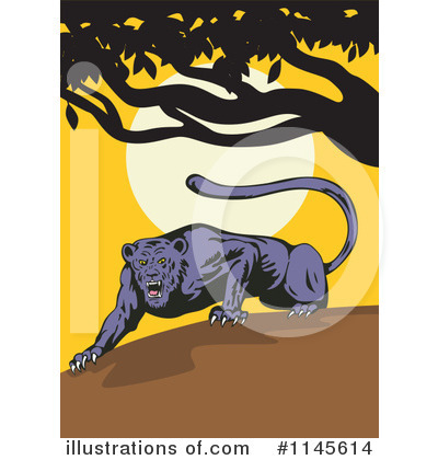 Panther Clipart #1145614 by patrimonio