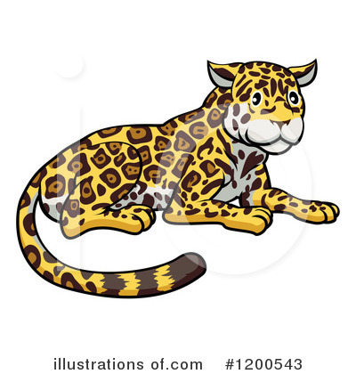 Panther Clipart #1200543 by AtStockIllustration