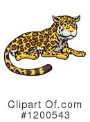 Jaguar Clipart #1200543 by AtStockIllustration