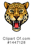 Jaguar Clipart #1447128 by Vector Tradition SM