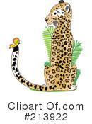Royalty-Free (RF) Jaguar Clipart Illustration #213922