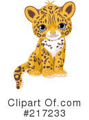 Royalty-Free (RF) jaguar Clipart Illustration #217233