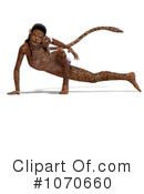 Jaguar Woman Clipart #1070660