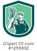 Royalty-Free (RF) Janitor Clipart Illustration #1256832