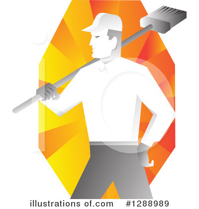 Janitor Clipart #1288989 by patrimonio