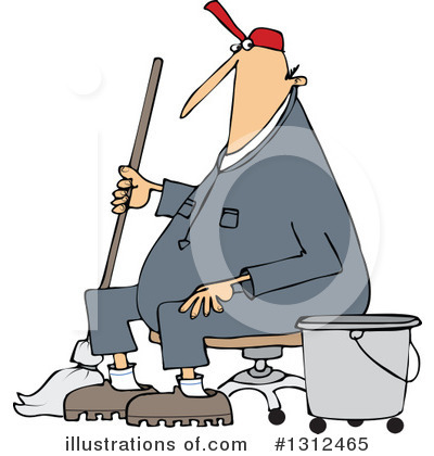 Mopping Clipart #1312465 by djart