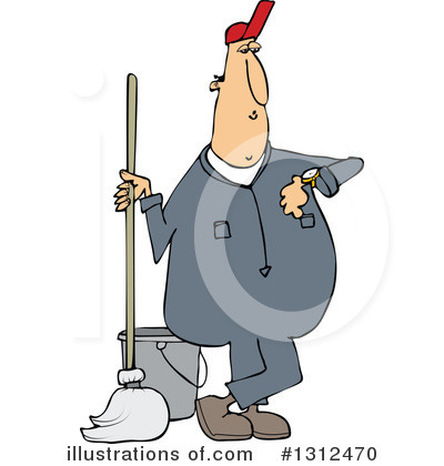 Mopping Clipart #1312470 by djart