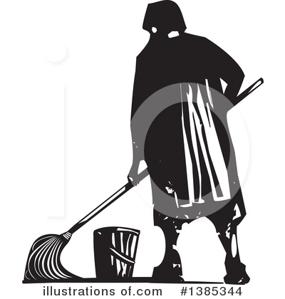Mopping Clipart #1385344 by xunantunich