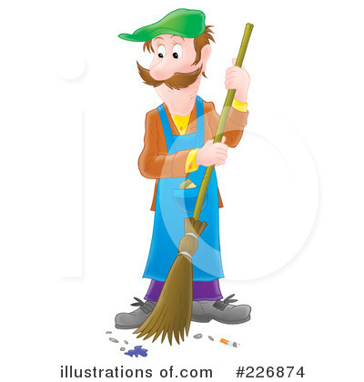 Sweeping Clipart #226874 by Alex Bannykh
