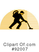 Royalty-Free (RF) Janitorial Clipart Illustration #92007