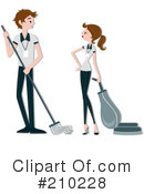 Janitors Clipart #210228 by BNP Design Studio