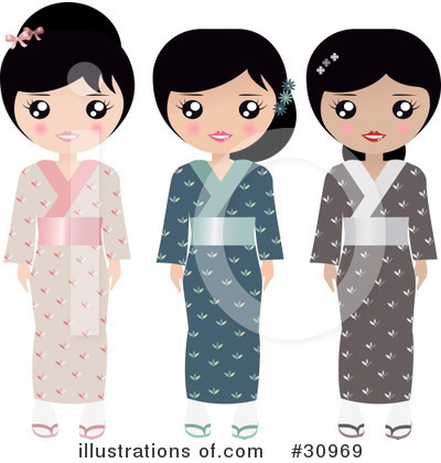 Asian Clipart #30969 by Melisende Vector