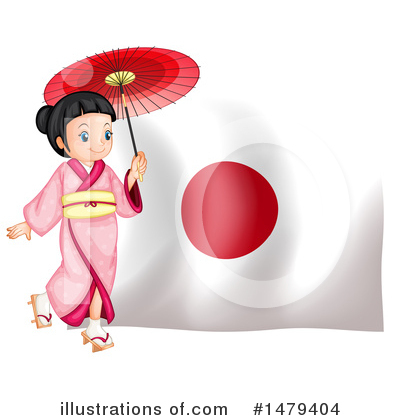 Geisha Clipart #1479404 by Graphics RF