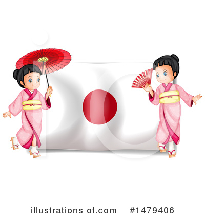 Geisha Clipart #1479406 by Graphics RF