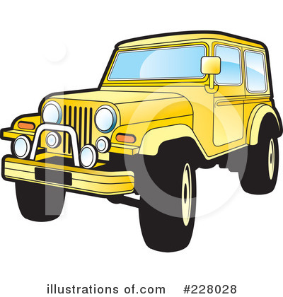 Jeep Clipart #228028 by Lal Perera