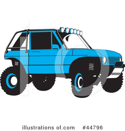 Jeep Clipart #44796 by Lal Perera