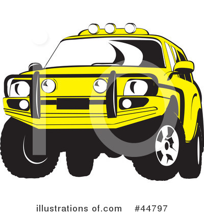 Jeep Clipart #44797 by Lal Perera