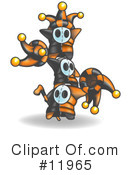 Royalty-Free (RF) Jester Clipart Illustration #11965