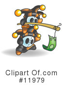 Royalty-Free (RF) Jester Clipart Illustration #11979