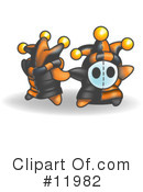 Royalty-Free (RF) Jester Clipart Illustration #11982