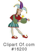 Jester Clipart #16200