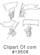 Royalty-Free (RF) Jester Clipart Illustration #19508