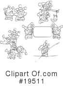 Royalty-Free (RF) Jester Clipart Illustration #19511