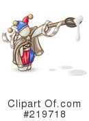 Royalty-Free (RF) Jester Clipart Illustration #219718
