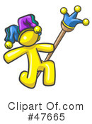 Royalty-Free (RF) Jester Clipart Illustration #47665